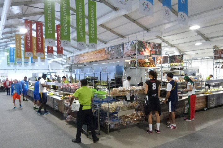 Athlete's Village Kitchen and Dining for Pan American Games, Toronto
