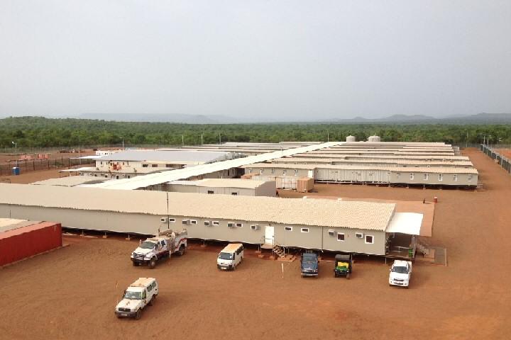 Modular Mining Camp in Mali