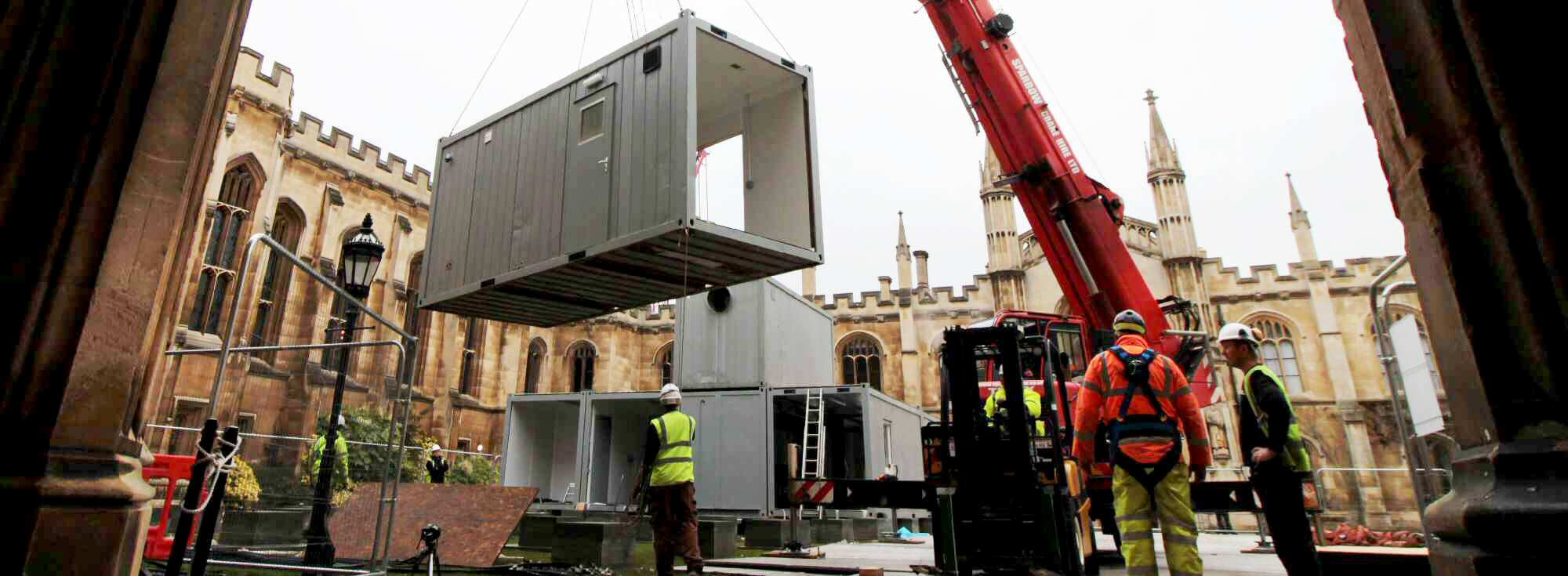 Temporary Kitchens Turnkey Solution