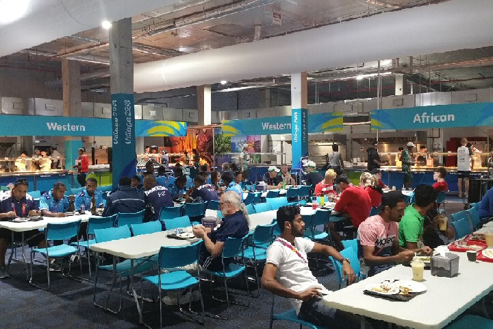 Temporary Kitchen Facility for Gold Coast Commonwealth Games